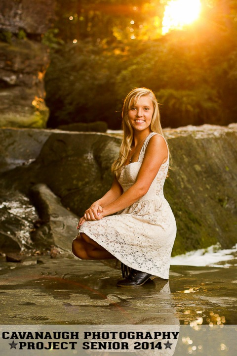 POTD_senior_girl_outdoor_park_waterfall_casual_sun_flare